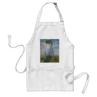 Claude Monet - Woman with a Parasol Artwork Standard Apron