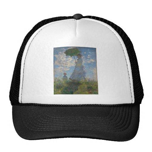 Claude Monet - Woman with a Parasol Mesh Hat