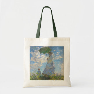 Claude Monet | Woman with a Parasol Tote Bag