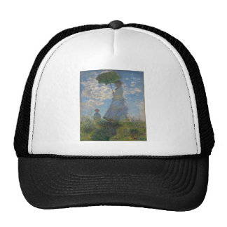 Claude Monet - Woman with a Parasol Trucker Hat
