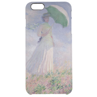 Claude Monet | Woman with a Parasol Turned Right Clear iPhone 6 Plus Case