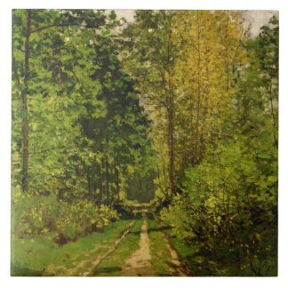 Claude Monet | Wooded Path Tile