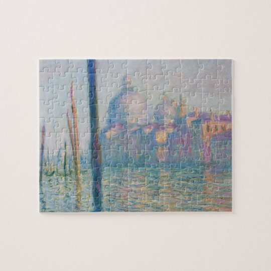 Claude Monet's Le Grand Canal Jigsaw Puzzle