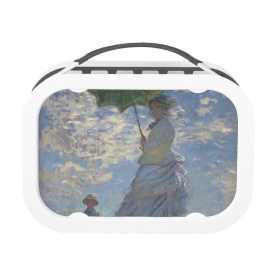 Claude Monet's Woman with a Parasol Lunchboxes