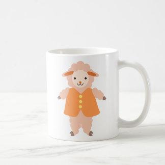 Claude Sheep Basic White Mug