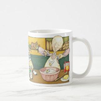 Claude the Baker - making dough Coffee Mug