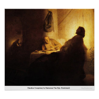 Claudius Conspiracy by Harmensz Van RijnRembrandt Posters