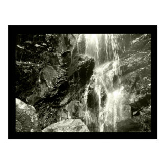 Claunch 72 Monochrome Collection - Waterfall Postcard
