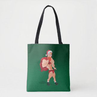Claus saint tote bag