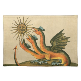 Clavis Artis Alchemy Dragons Placemat