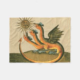 Clavis Artis Dragons Fleece Blanket