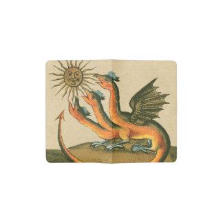 Clavis Artis Dragons Pocket Moleskine Notebook