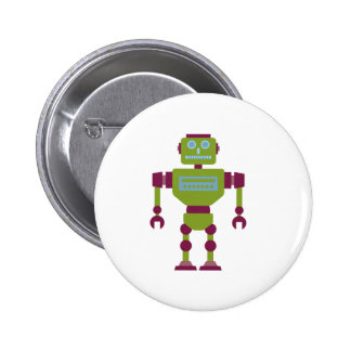 Claw Handed Robot Pin