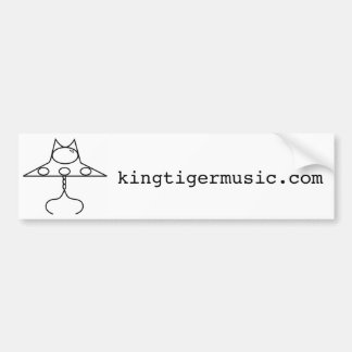 claw saucer bumper sticker