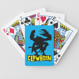 Clawboon Silhouette Bicycle Playing Cards