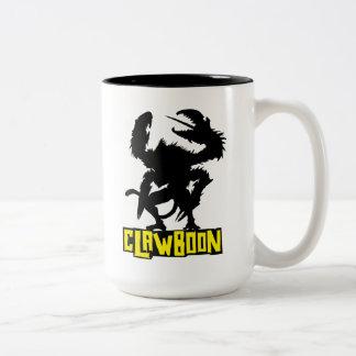 Clawboon Silhouette Two-Tone Coffee Mug
