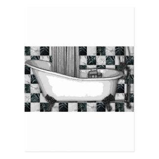 CLAWTUB BATH TESSA 1.jpg Postcard