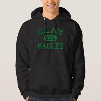 Clay - Eagles - Clay High School - Oregon Ohio Hoodie