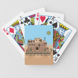 Clay House Bicycle Playing Cards