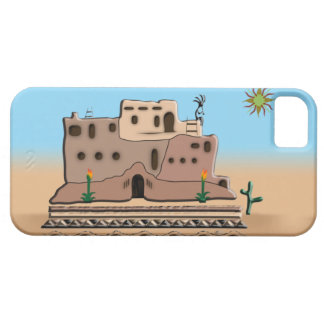 Clay House iPhone 5 Cover