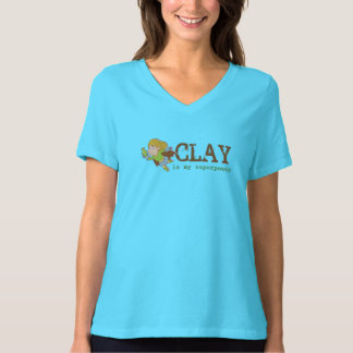 CLAY IS MY SUPERPOWER T-Shirt