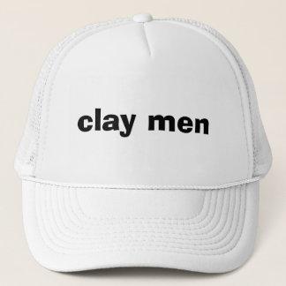 clay men trucker hat