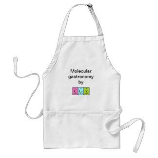 Clay periodic table name apron
