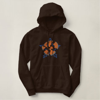 Clay Pigeon Logo Embroidered Hoodie