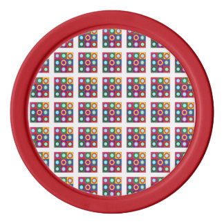 Clay Poker Chips Sparkle Round Colorful