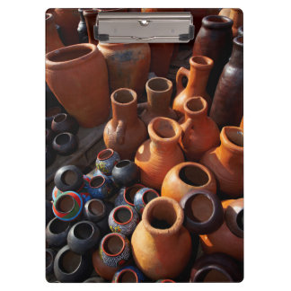 Clay Pots, Hazyview, Mpumalanga, South Africa Clipboard