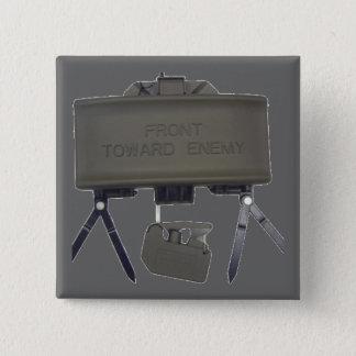 Claymore 2 Inch Square Button