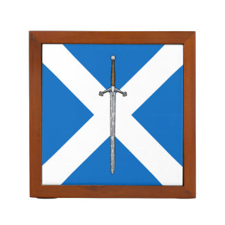 Claymore and Saltire Desk Organizers