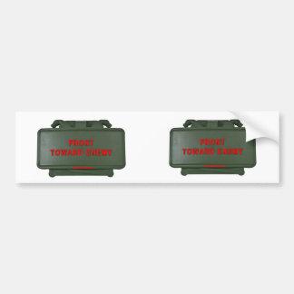 CLAYMORE MINE (2 for 1) Bumper Sticker