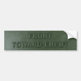 Claymore Mine Bumper Sticker