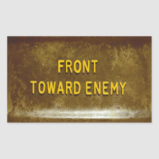 Claymore Mine Phone Cover Mk I Front Toward Enemy Sticker