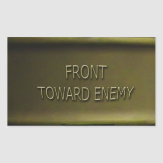 Claymore Mine Sticker Mk II Front Toward Enemy