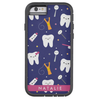 Clayvision Teeth & Friends Iphone 6 Tough Xtreme Tough Xtreme iPhone 6 Case