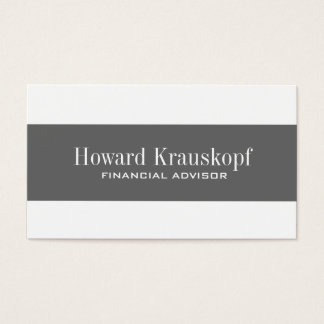 Clean and Simple Business Cards