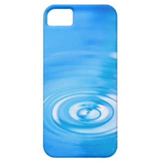 Clean blue water ripples iPhone 5 covers