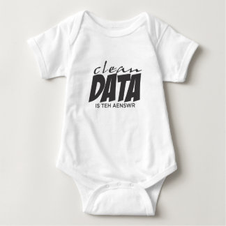 Clean Data is the Answer Baby Bodysuit