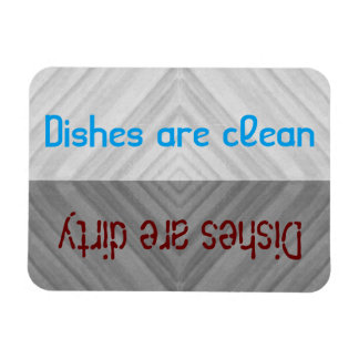 Clean   Dirty Dishes Dishwasher Magnet