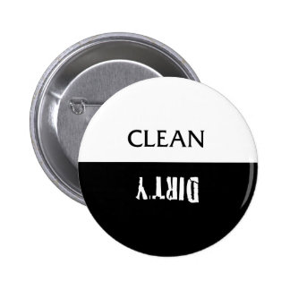 Clean Dirty Dishes Magnet Button