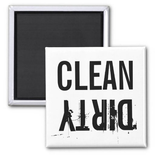 Clean Dirty Dishwasher Kitchen Magnet Magnets