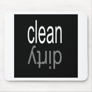 Clean/Dirty Dishwasher Magnet Mouse Pad