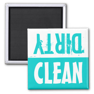 Clean dirty dishwasher magnets |  Turquoise