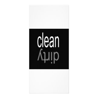 Clean/Dirty Dishwasher Personalized Rack Card