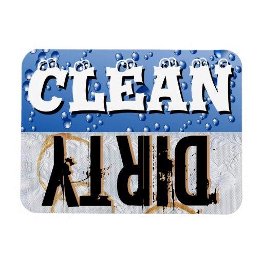 Clean & Dirty Dishwasher Vinyl Magnet