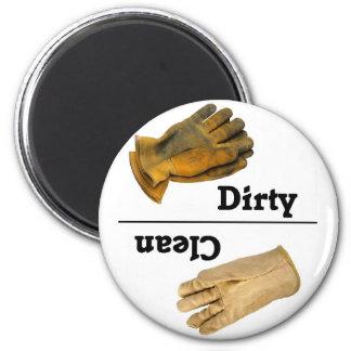 Clean/Dirty Glove Dishwasher Magnet