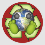 Clean Earth - Recycle Round Sticker