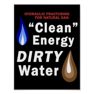 """Clean Energy"", DIRTY Water - Poster"